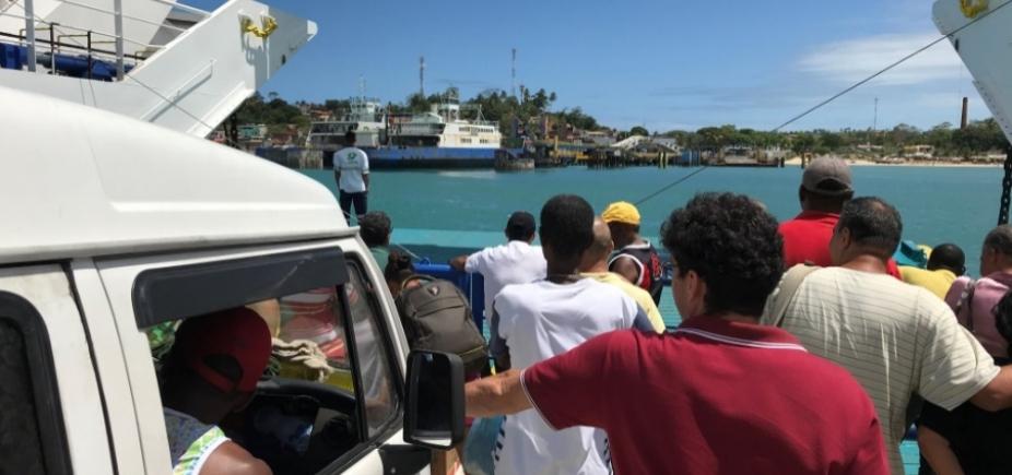 """[Internacional deixa passageiros do ferry sem colete para evitar """"escândalo""""]"""