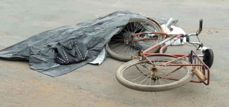 [Ciclista de 48 anos morre ao ser atropelada por caminhão em Barreiras ]