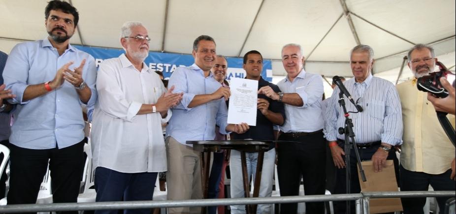 [Rui autoriza recuperação de trecho da BA-120 entre Sapeaçu a Castro Alves]