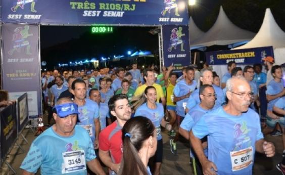 Corrida e caminhada de rua voltada para motoristas reúne trabalhadores em etapa nacional