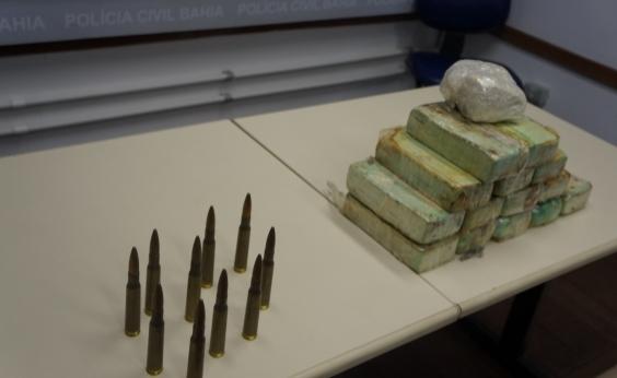 Estudante de enfermagem é presa em Simões Filho com 15kg de cocaína avaliados em R$ 375 mil
