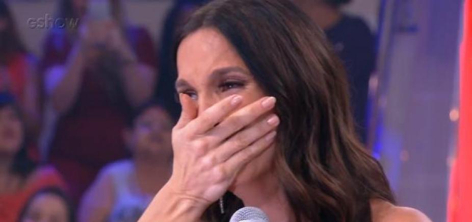 [Ivete Sangalo chora ao ver apartamento da infância e emociona público; vídeo]