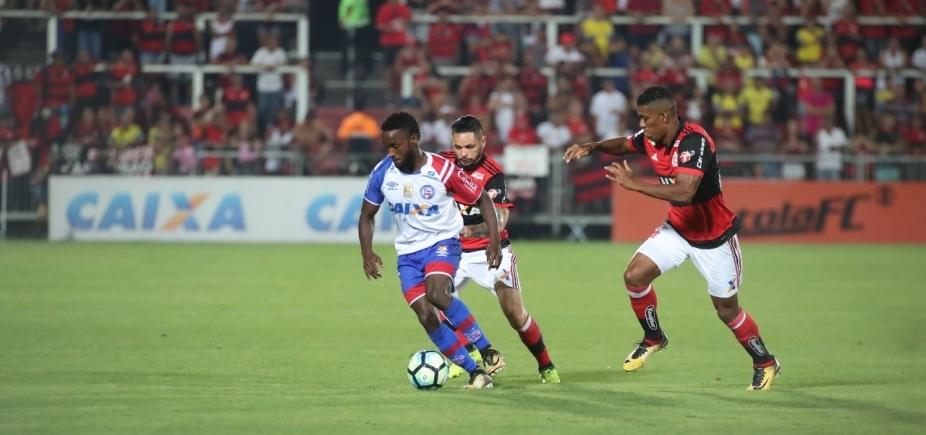[Bahia perde de goleada para o Flamengo por 4 a 1 e despenca na tabela da Série A]
