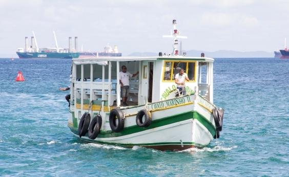 Parada por maré baixa, travessia Salvador-Mar Grande deve voltar a operar às 11h