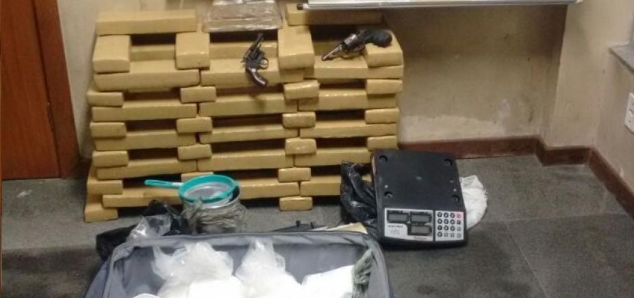 [Operação da SSP prende seis suspeitos e apreende 67 kg de drogas em Feira de Santana]