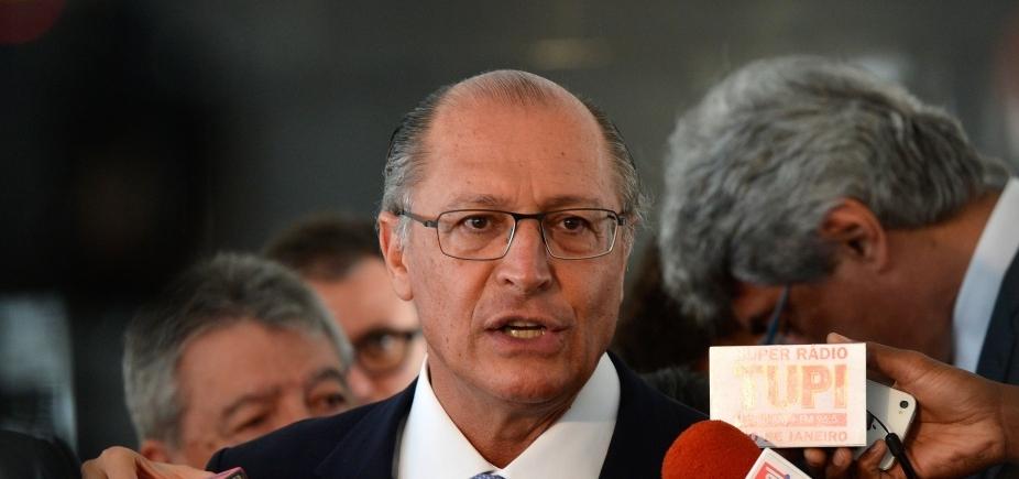 [ʹPreparado para servir ao Brasilʹ, diz Alckmin sobre eleições de 2018]