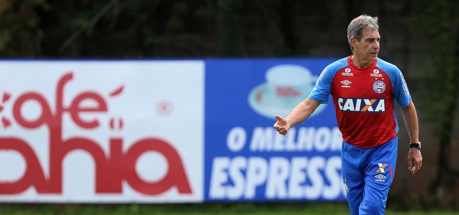 [Carpegiani reclama de desatenção do Bahia contra o Flamengo]