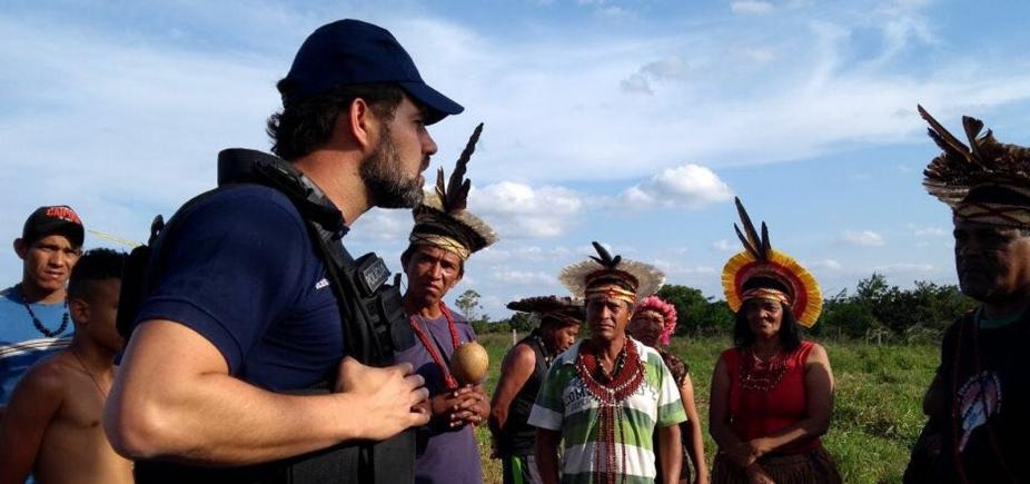 [Índios pedemdemarcação de fazenda de ex-ministro Geddel, no sudoeste da Bahia]