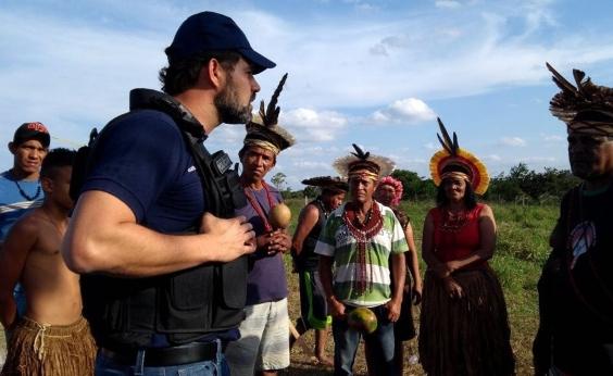 Índios pedemdemarcação de fazenda de ex-ministro Geddel, no sudoeste da Bahia