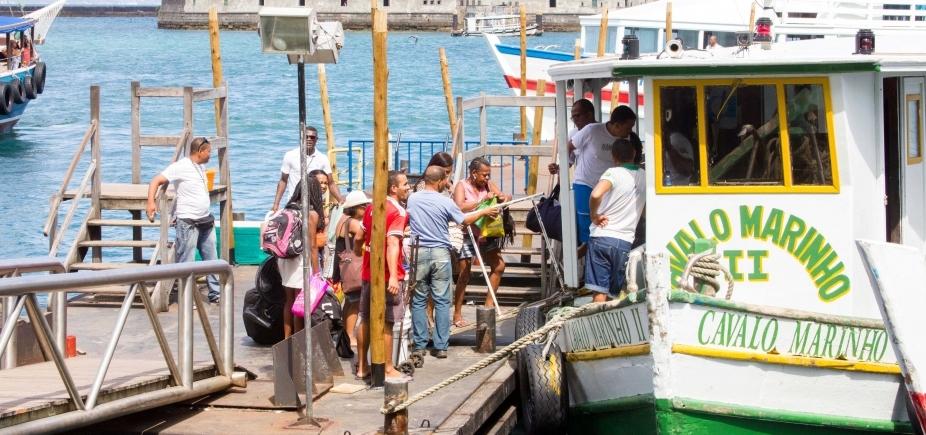 [Travessia Salvador-Mar Grande faz parada de 2h por causa da maré baixa]
