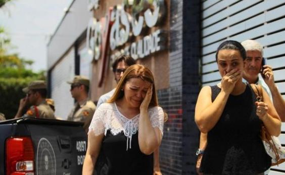 Estudantes mortos em atentado em Goiânia são enterrados neste sábado