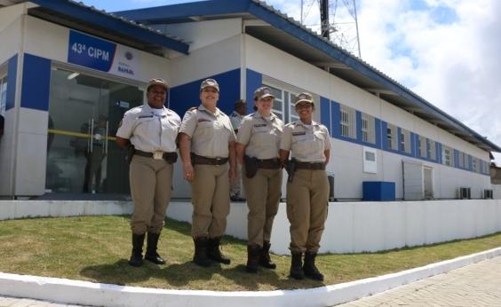 Itamaraju ganha nova sede da 43ª Companhia Independente da PM