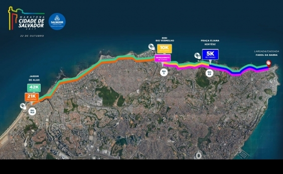 Maratona de Salvador altera trânsito no domingo; confira as mudanças