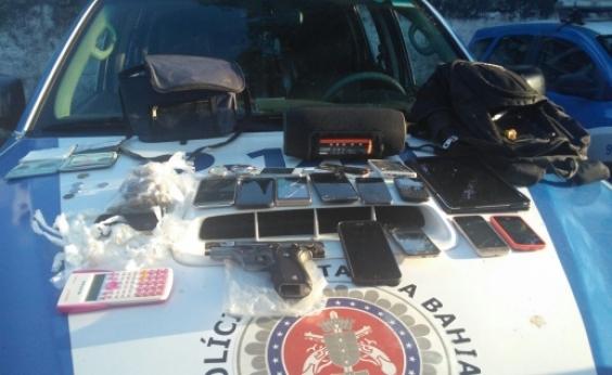 Grupo suspeito de assaltar Clínica Multimagem é preso após ser rastreado por celular roubado