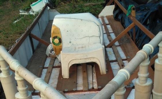 Operação apreende barco que era utilizado para transporte de drogas em Salvador