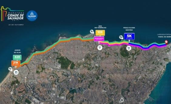 Maratona Salvador: trânsito na orla será normalizado a partir das 13h