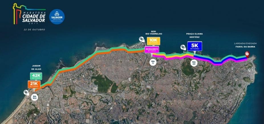 [Maratona Salvador: trânsito na orla será normalizado a partir das 13h]