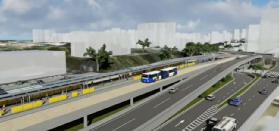 [Obras do BRT de Salvador devem começar em novembro, diz Fábio Mota]
