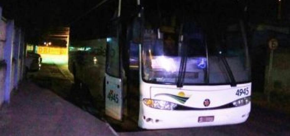 [Em oito meses, estradas baianas têm 470 ônibus assaltados ]