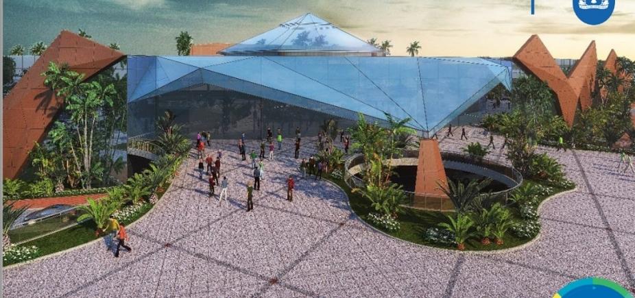 [Novo Centro de Convenções dá destino à área do antigo Aeroclube e deve fortalecer economia]