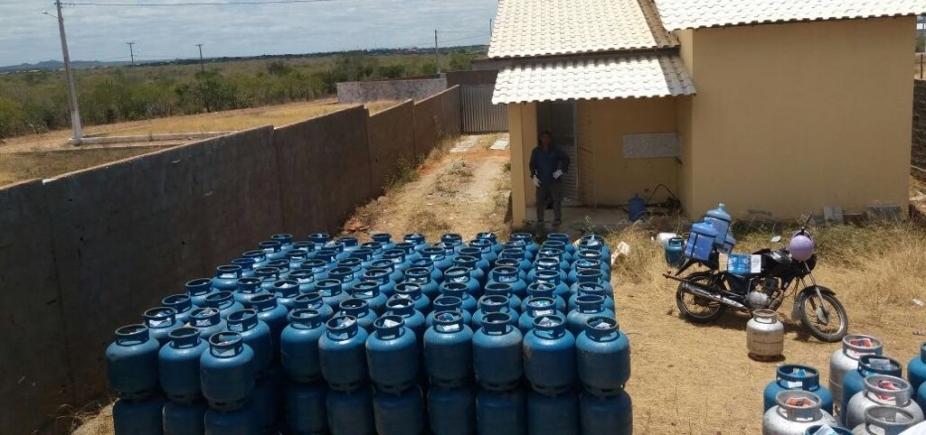 [Carga irregular com 850 botijões de gás é apreendida no interior da Bahia]