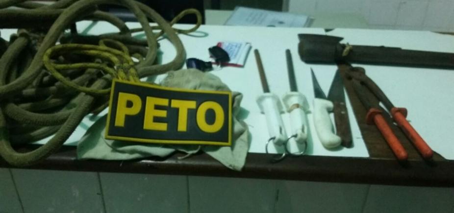 [Suspeito de roubar gado é preso em Santo Amaro com equipamentos para sacrificar animais]