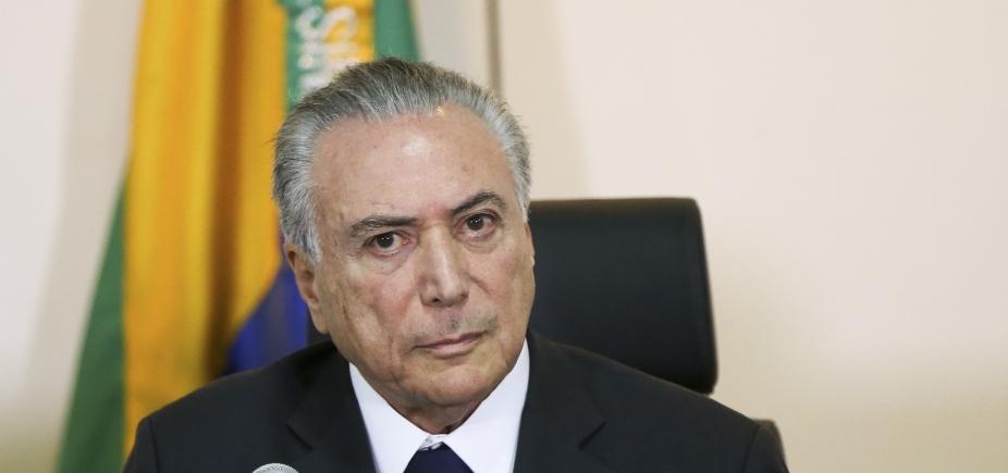 [Barroso pede que PF formule perguntas de interrogatório de Temer sobre decreto no setor de portos]