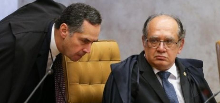 [Barroso acusa Gilmar de ter parceria com 'leniência à criminalidade do colarinho branco'; ouça]