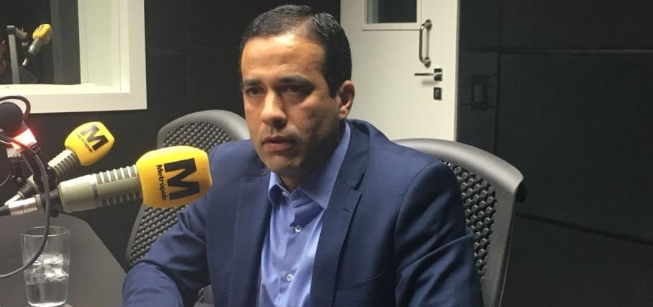 [Bruno Reis diz que governo está com ʹinvejaʹ da Prefeitura pelo novo Centro de Convenções]