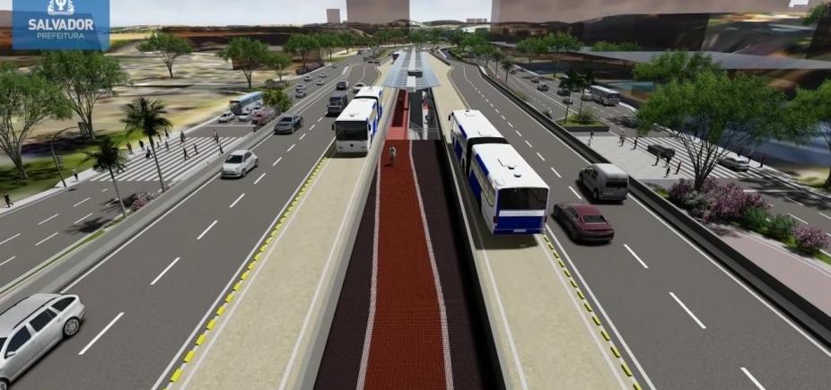 [Com encerramento da fase de recursos, obras do BRT de Salvador devem começar em novembro]