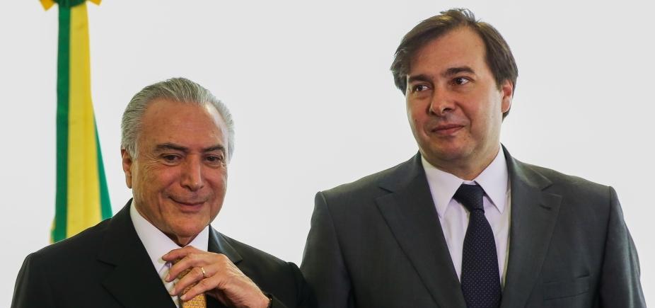 [Rodrigo Maia alerta Temer que governo corre risco de derrota até em MPs]