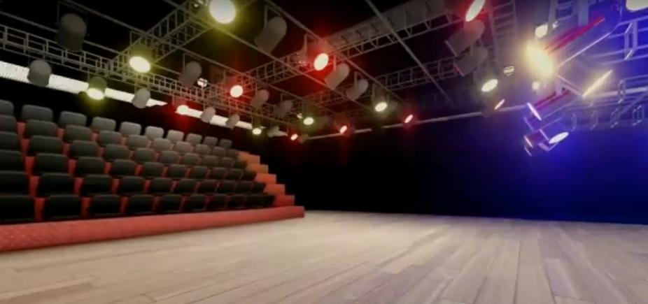 [Vídeo mostra como ficará a Sala do Coro do TCA; assista]