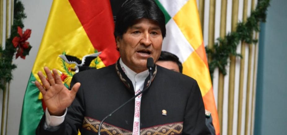 [Devido a estado de saúde de Temer, Morales cancela visita ao Brasil ]