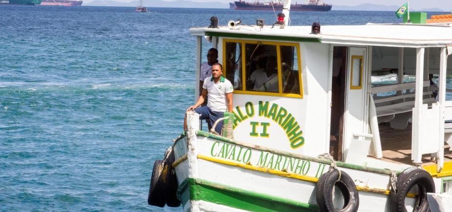 [Com oito embarcações, travessia Salvador-Mar Grande tem saídas a cada 30 minutos neste domingo]