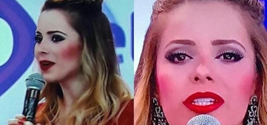 [Sandy rebate internauta que criticou sua maquiagem no Teleton; veja]
