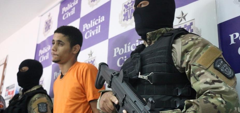 [Polícia prende homem acusado de seis homicídios no Engenho Velho da Federação]