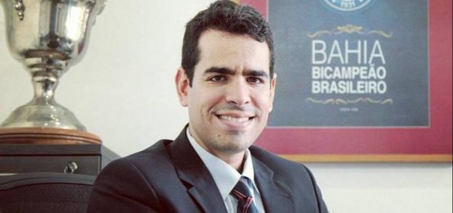 [SantʹAna confirma que não vai tentar reeleição no Bahia: \