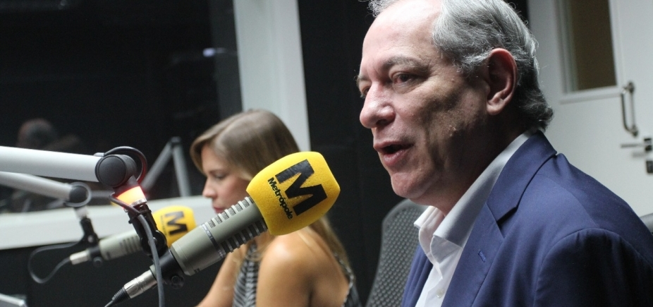 [Ciro Gomes diz que Brasil passa por