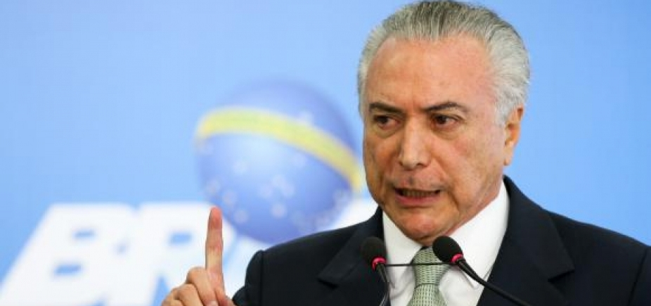 [ Temer já está em Brasília e deve retomar agenda de trabalho nesta quarta-feira ]
