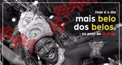 Bloco afro Ilê Aiyê comemora aniversário com campanha de financiamento coletivo