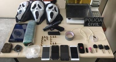 Trio é preso em flagrante por tráfico de drogas em Ilhéus