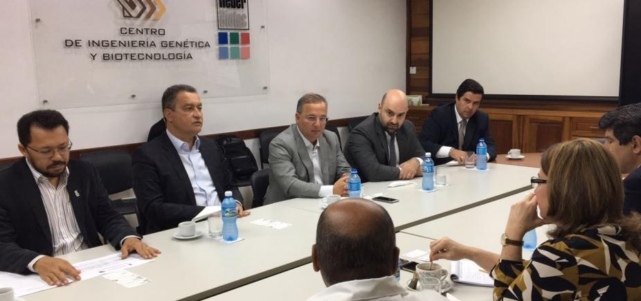 [Rui destaca importância de parcerias em Cuba: \