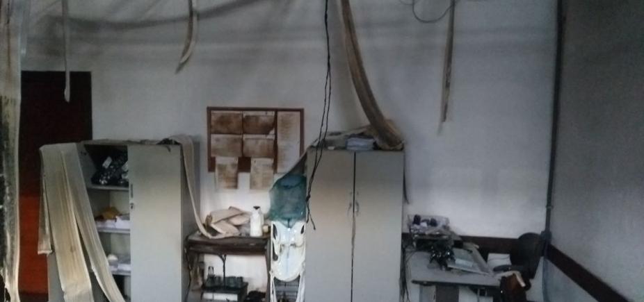 [Secretaria que armazenava documentos da PF em Camaçari é alvo de incêndio]