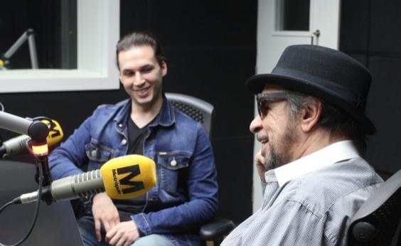 Marcelo Nova revela história curiosa sobre como efetivou filho em sua banda: É dó, porra!