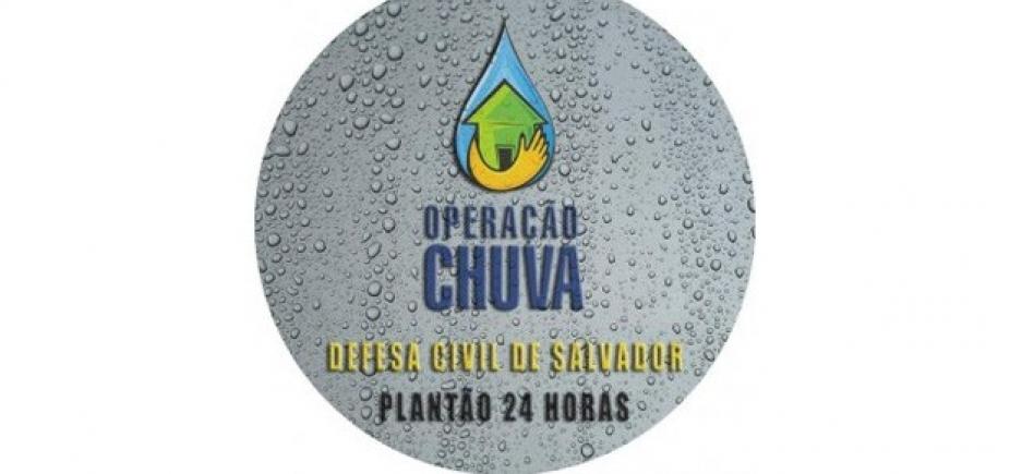 [Operação Chuva: Codesal registra dois deslizamentos de terra em Salvador]