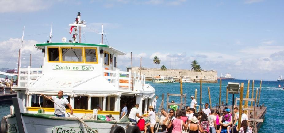 [Maré baixa suspende travessia Salvador - Mar Grande até às 11h]