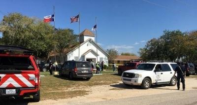 Tiroteio em igreja dos Estados Unidos deixa 27 mortos e 24 feridos