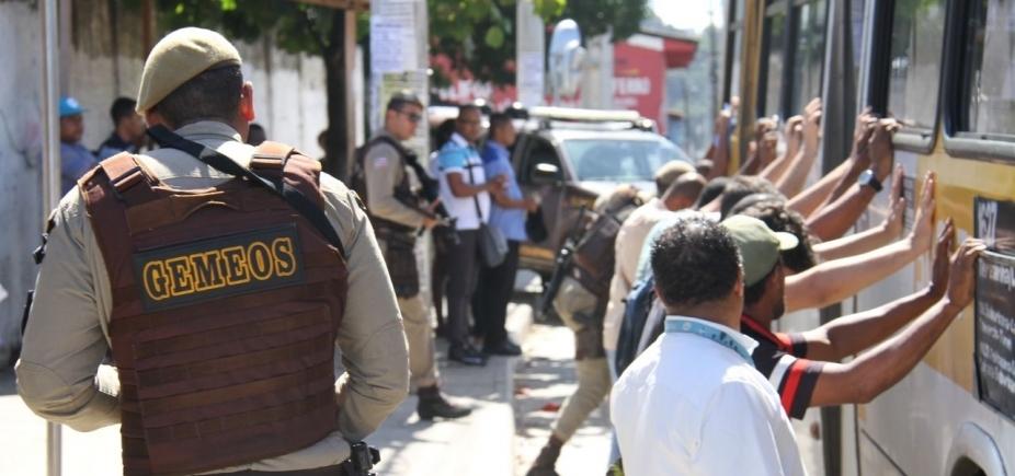 [Levantamento revela redução de 18,5% nos assaltos a ônibus em Salvador no mês de outubro]