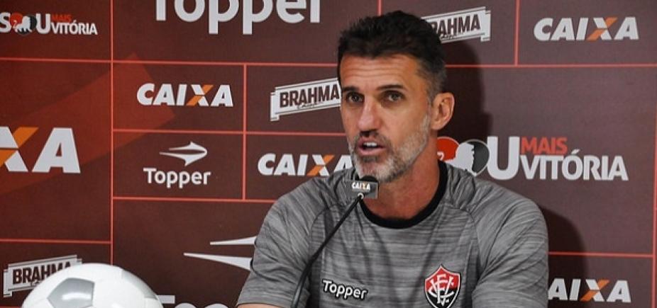 [Mancini elogia atuação do Vitória contra o Vasco: \