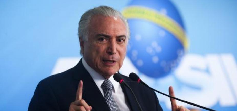 [Ministros se reúnem com Temer para discutir privatização da Eletrobras]